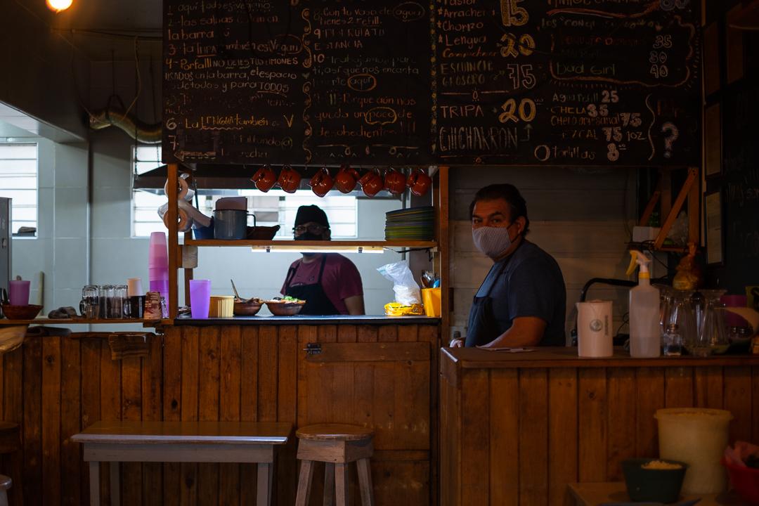 Batalla por sobrevivir restaurantes de Narvarte a 10 meses de pandemia por COVID-19