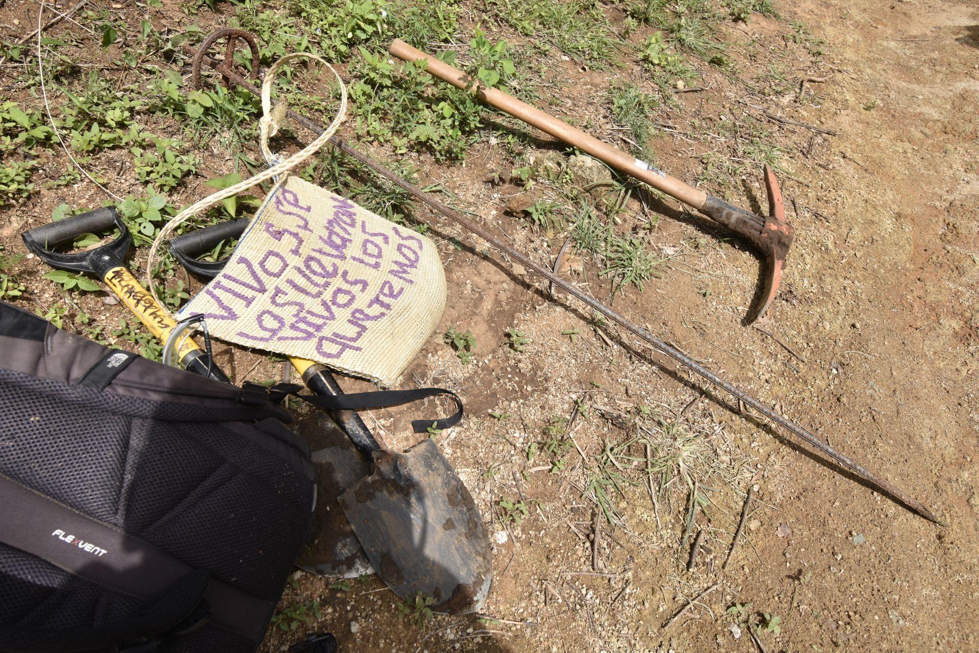 Mamás encuentran fosas clandestinas Sonora