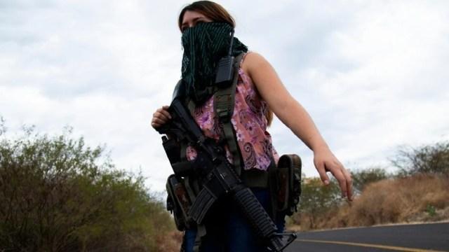 Mujeres embarazadas CJGN Michoacán