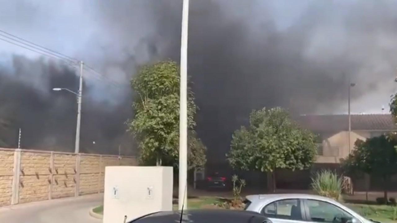Video crematorio llena humo colonias incineraciones fallecidos COVID-19