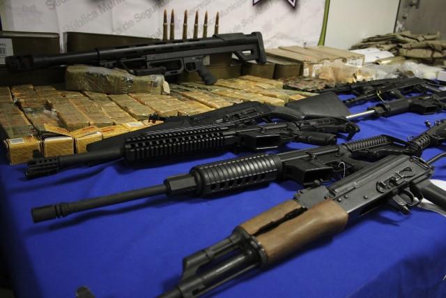 Decomiso armas de fuego Sedena