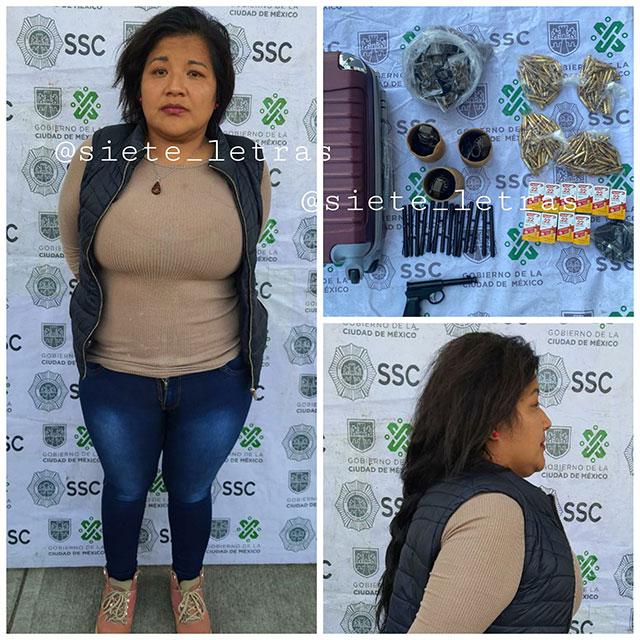 Una mujer llamada como la Juana y un adolescente de 13 años que se hacía pasar por su hijo fueron detenidos por venta de armas por internet