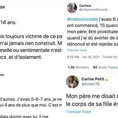 El hashtag de Twitter #MeTooInceste estalló en Francia como espacio de denuncia del incesto y la pederastia