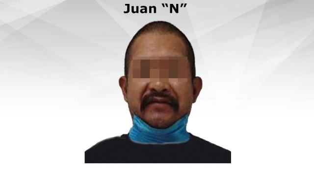 En Morelos detuvieron a Juan por el delito de violación en contra de su hija, a quien embarazó, la madre estaba al tanto de las agresiones