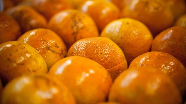Comieron 30 kilos de naranjas por no pagar extra en vuelo; les salen úlceras bucales