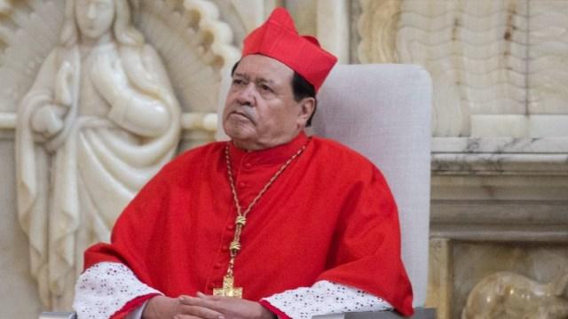 Arquidiócesis: Norberto Rivera presenta mejora tras ser hospitalizado por Covid