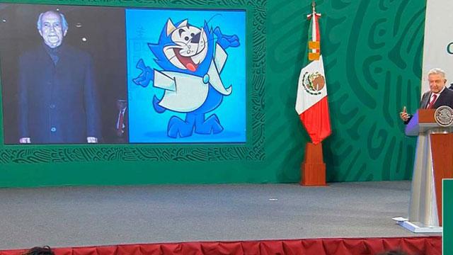 En la mañanera de AMLO transmitieron un video de Benito Bodoque, el popular personaje de Don Gato, ¿a qué se debe?