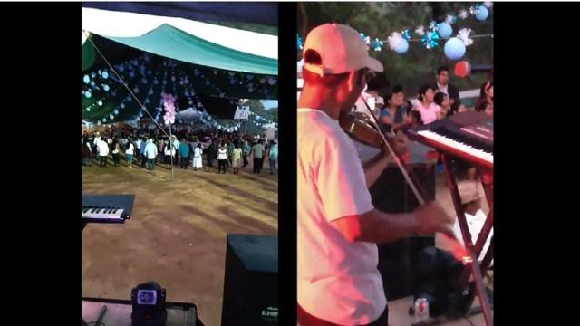 Video denuncian fiesta Santiago Amoltepec Oaxaca