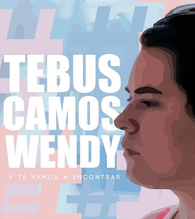 Iniciativas para encontrar a Wendy Sánchez.