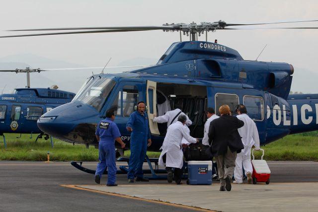 Traslado de órganos para donación