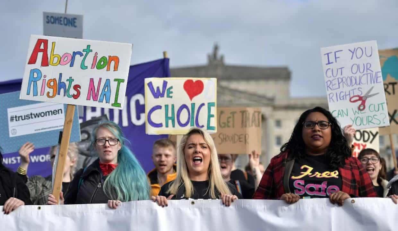 Más de mil abortos Irlanda del Norte nueva ley
