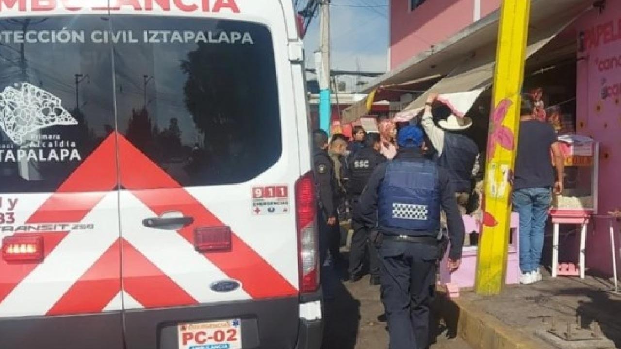 Iztapalapa: balearon a las empleadas de una papelería por 100 pesos
