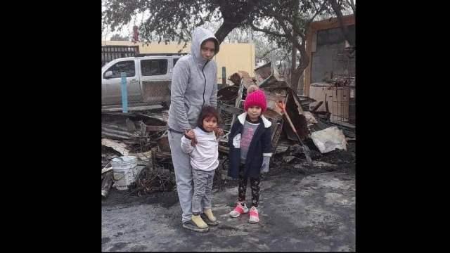Apagaón familia encendió vela casa incendiara Matamoros