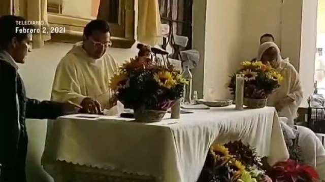 Falso sacerdote negó existencia COVID-19