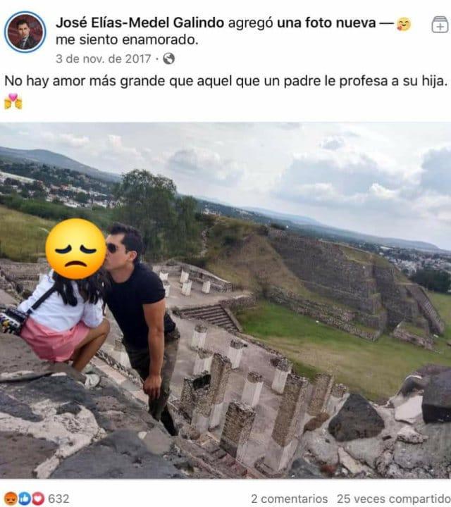 José Elías Medel Galindo y las acusaciones de pedofilia