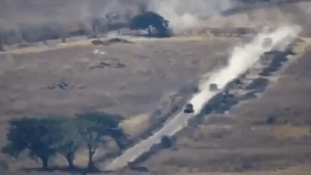 Video: Dron registra enfrentamientos entre grupos armados de Michoacán y CJNG