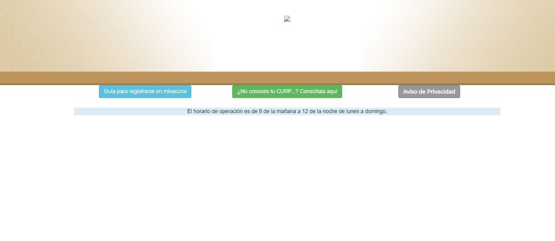 Usuarios reportan caídas y fallas en Mi Vacuna, la página de registro para adultos mayores para la vacuna contra COVID-19