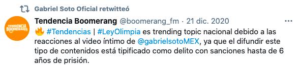 Gabriel Soto exige cárcel para la persona filtró su video íntimo
