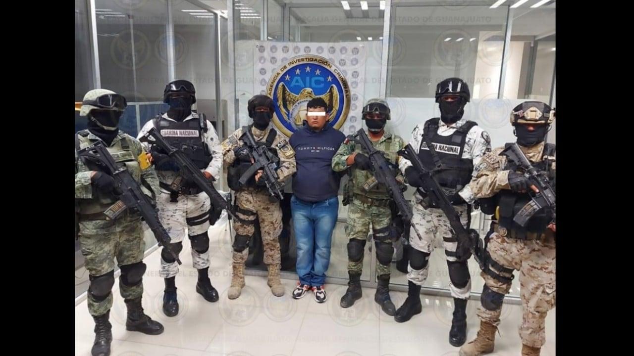 Detienen El Dalugas líder Cártel de Santa Rosa de Lima