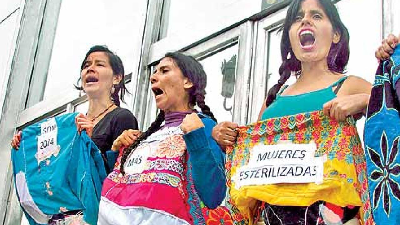 mujeres indígenas en Perú fueron esterilizadas