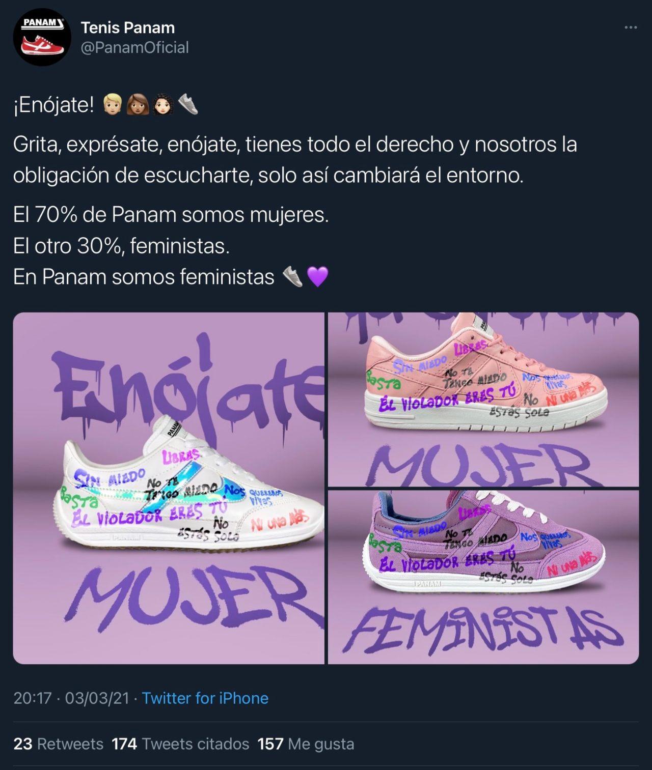 PANAM lanza campaña 'feminista'
