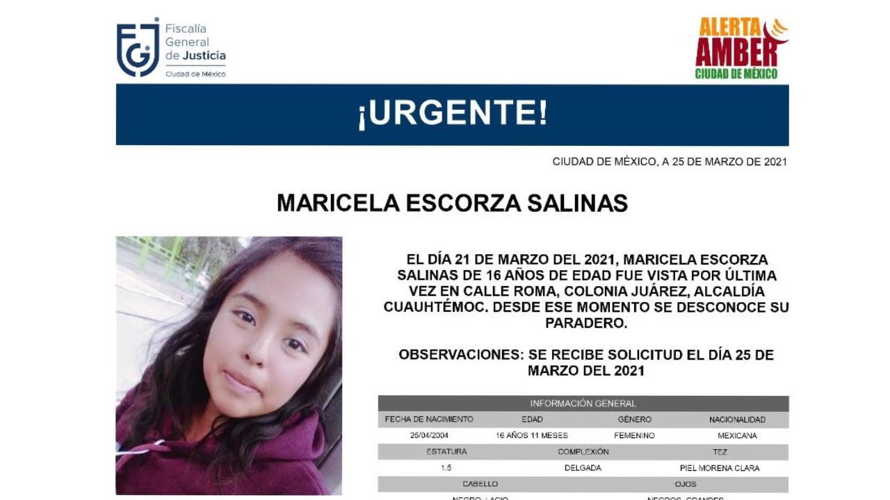 Feminicidio Maricela joven otomí de 16 años