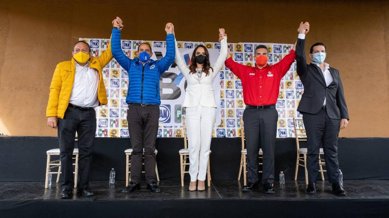 Lupita Jones rinde protesta candidatura gubernatura Baja California