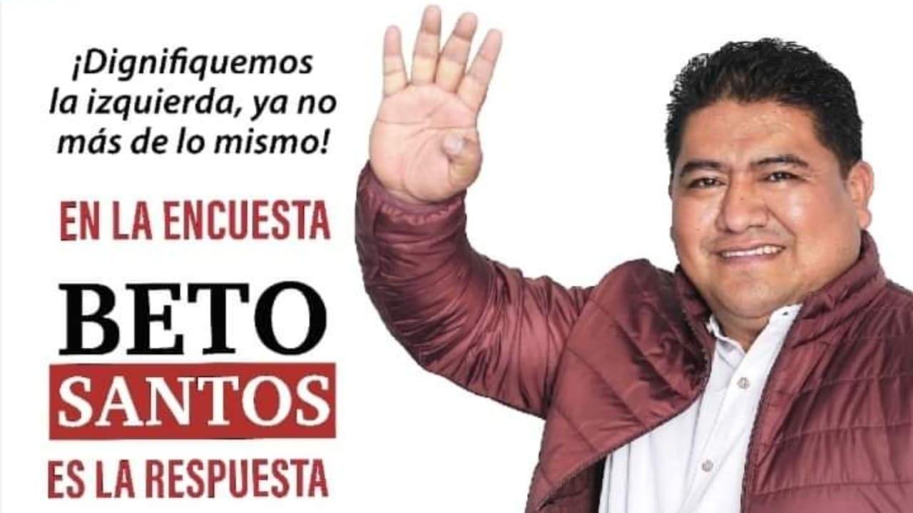 Beto Santos precandidato de MORENA es acusado de compartir imágenes de mujeres en Whatsapp