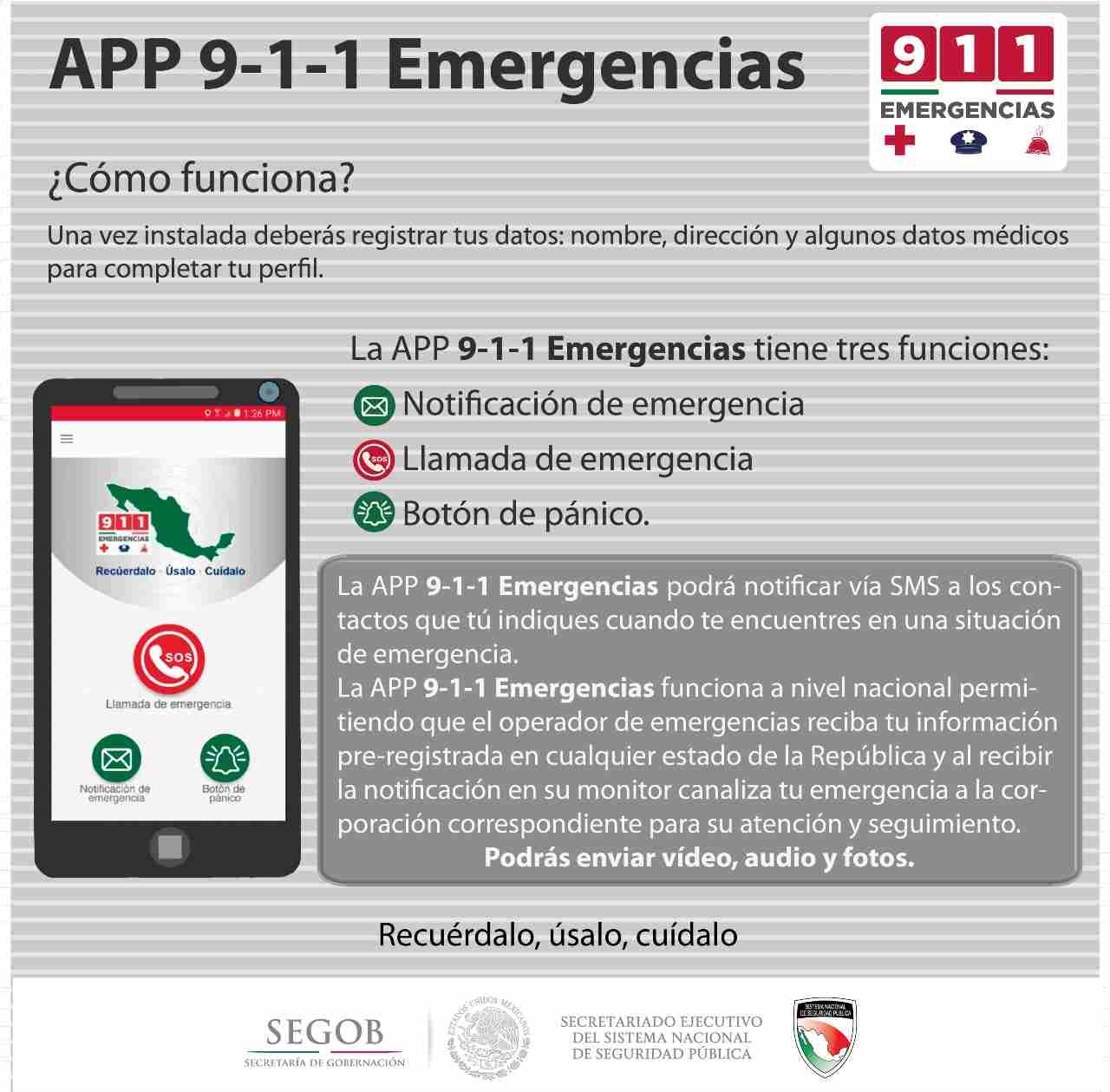 Emergencias que puedes denunciar en 911 y 088