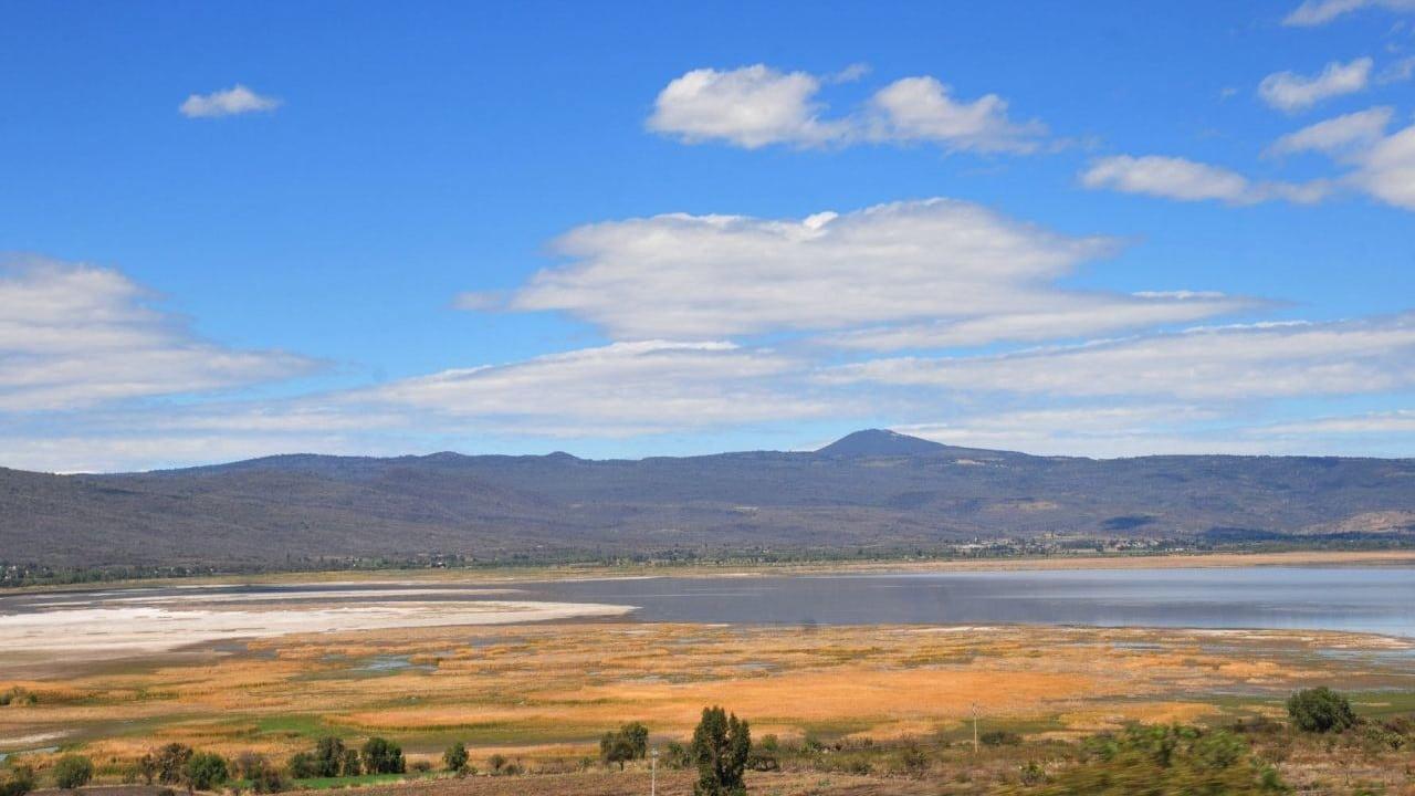 Lago Cuitzeo Sin Agua Llano Seco