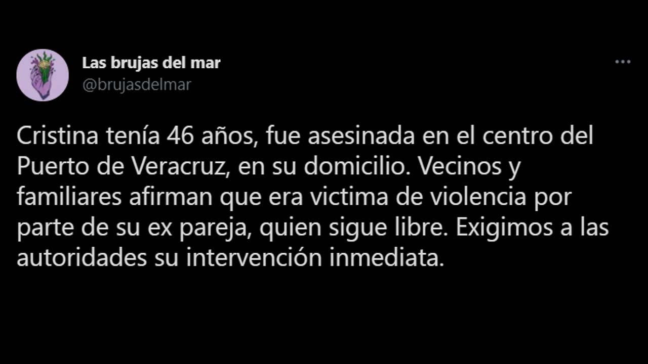 Exigen justicia por Feminicidio de Cristina en Veracruz