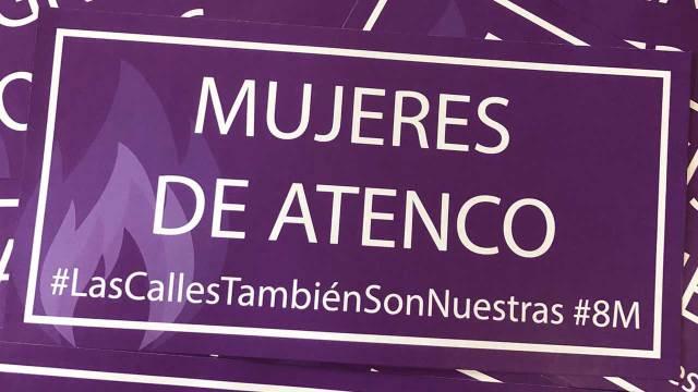 Feministas renombran y tomas calles México