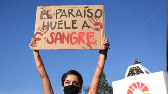 Protestas Quintana Roo feminicidio Victoria y Karla