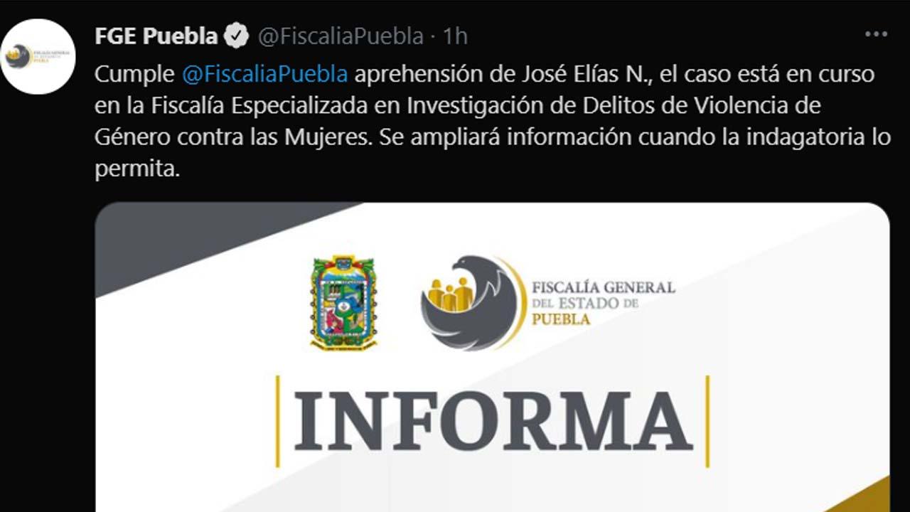 Detienen en Puebla a José Elías 'N' por pedofilia