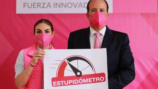 Candidato a gobernador de Fuerza por México creó el estupidómetro
