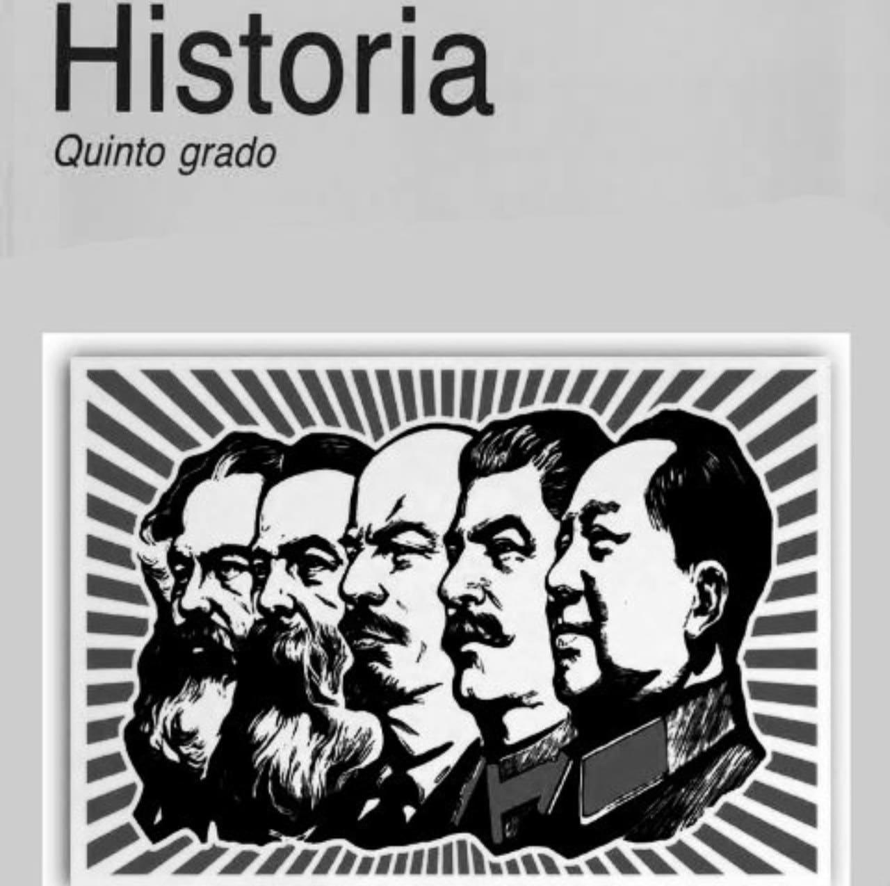 Libros de texto comunistas Fernanda Familiar