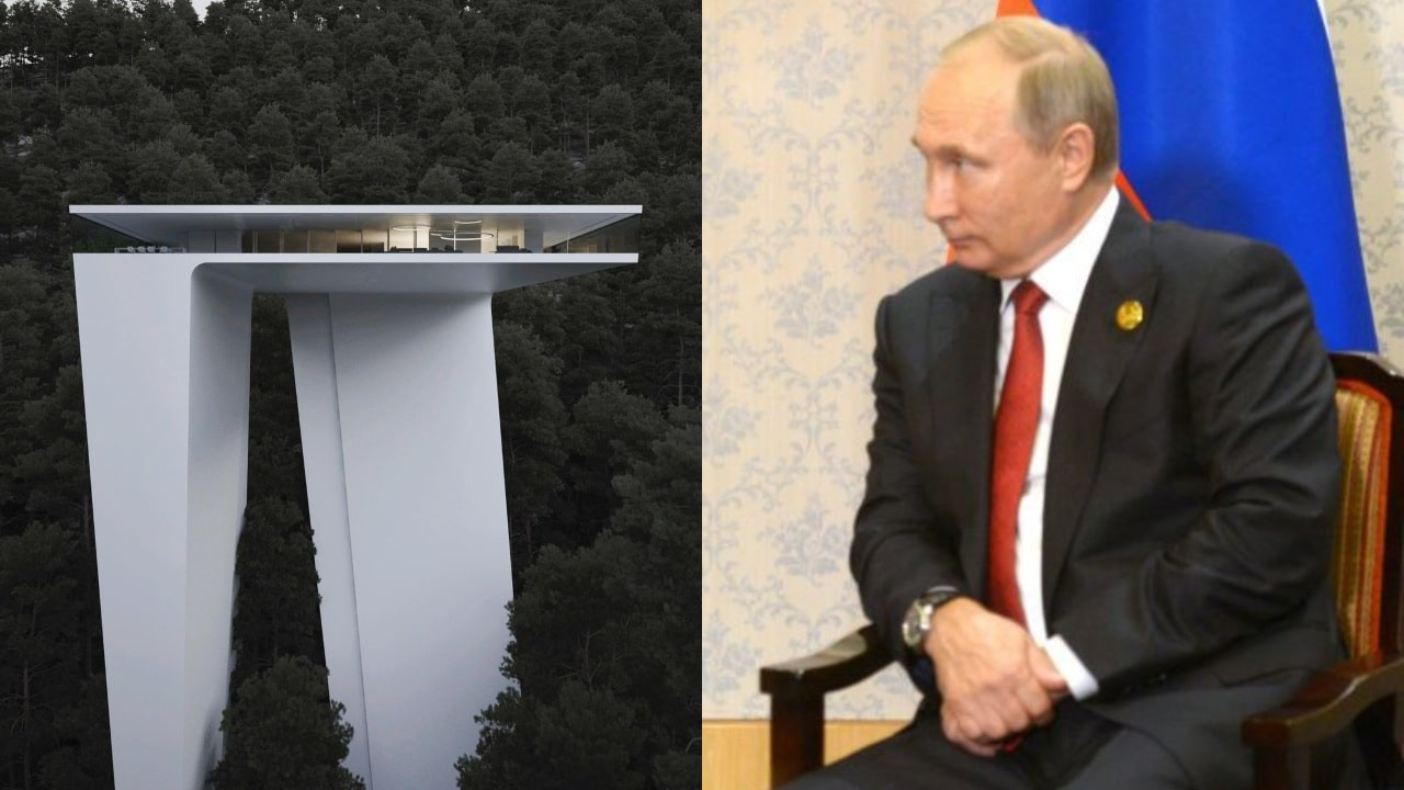 Casa de Vladimir Putin en Sochi Rusia