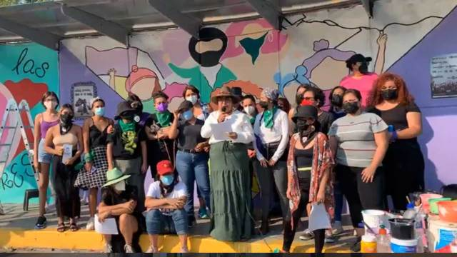 Colectiva Nacional Feminista autogobierno Guerrero