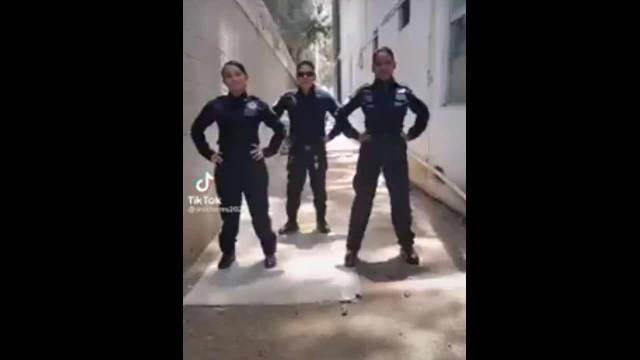 policías Michoacán video TikTok
