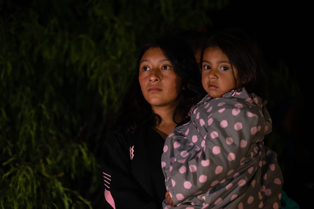 migrante hija rio bravo