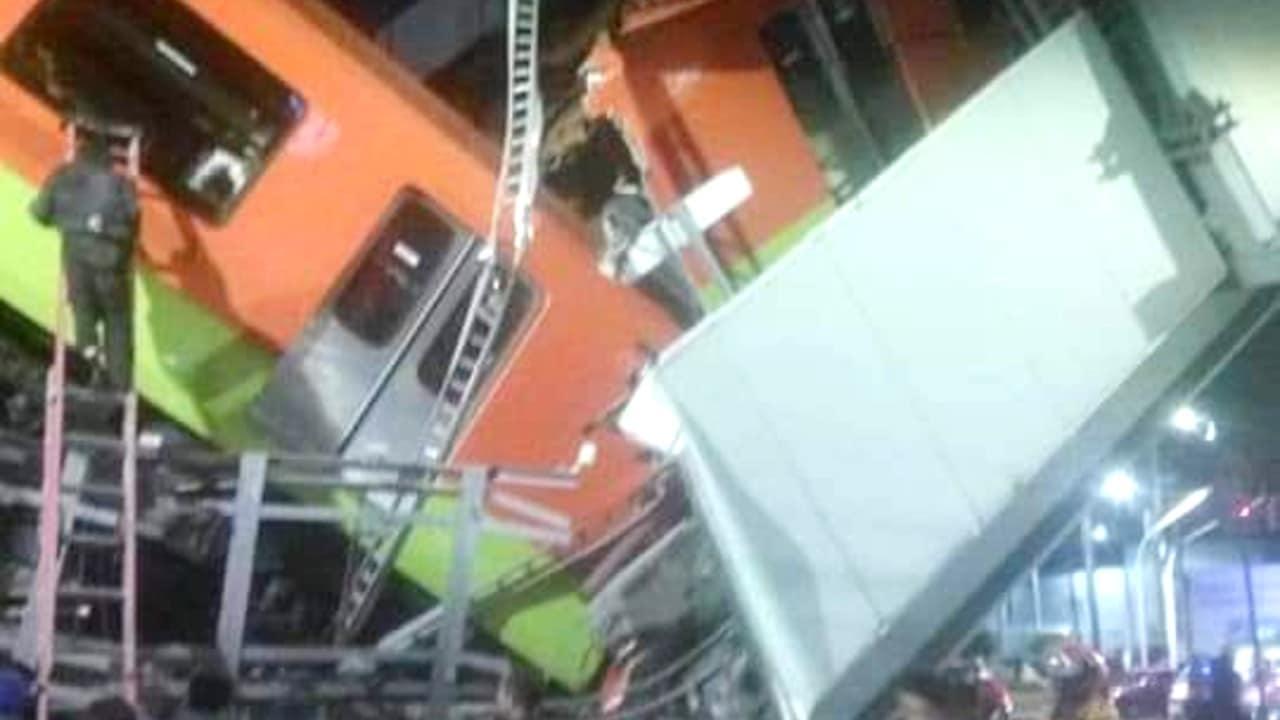 Caída metro Olivos