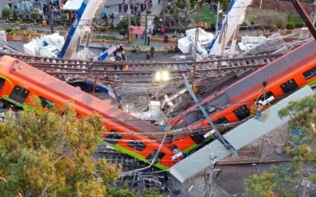 Metro CDMX caída 12 Olivos