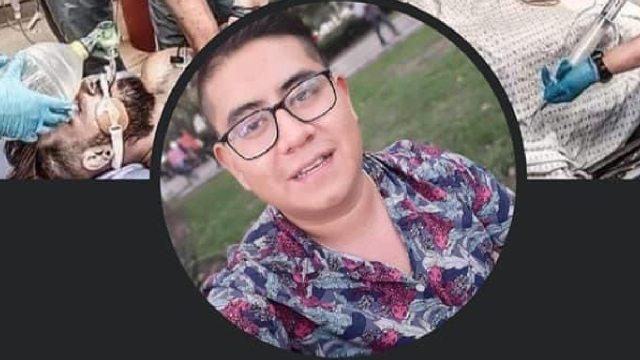 Omar Peralta, enfermero ayudó a heridos del accidente Línea 12 del Metro