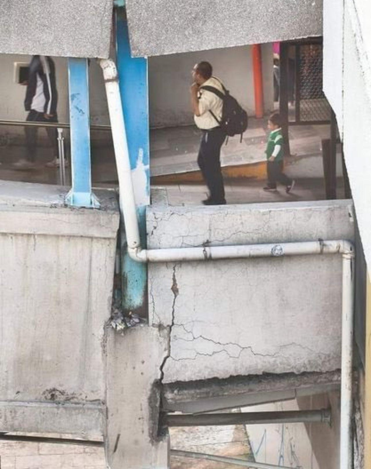 Riesgo estación Pantitlán