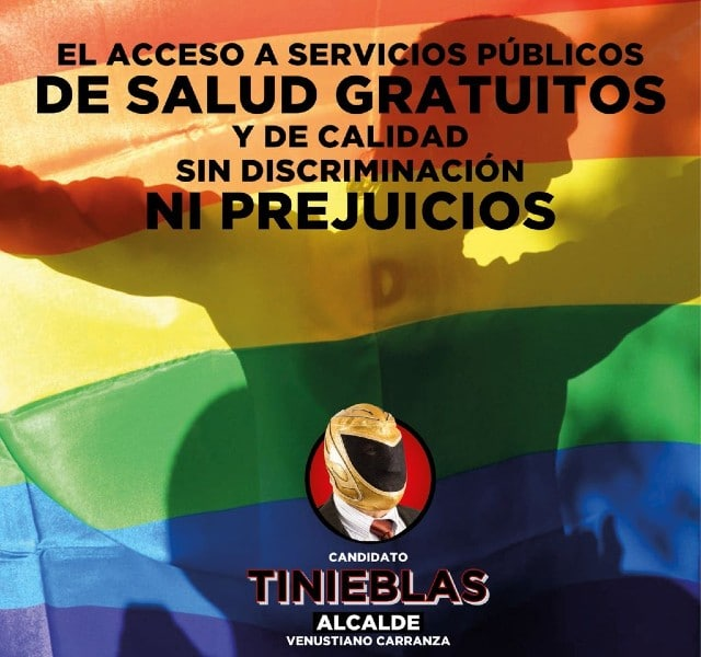 Tinieblas debate pregunta LGBT CDMX