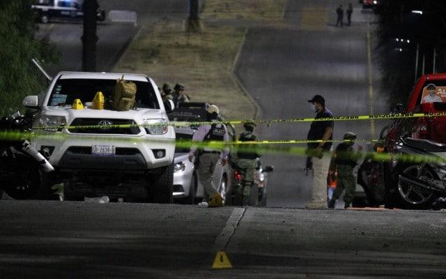 CJNG Guanajuato mata policías