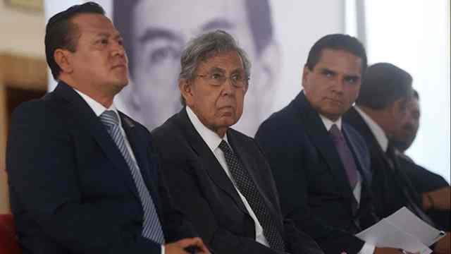 Cuauhtémoc Cardenas Este gobierno no es de izquierda
