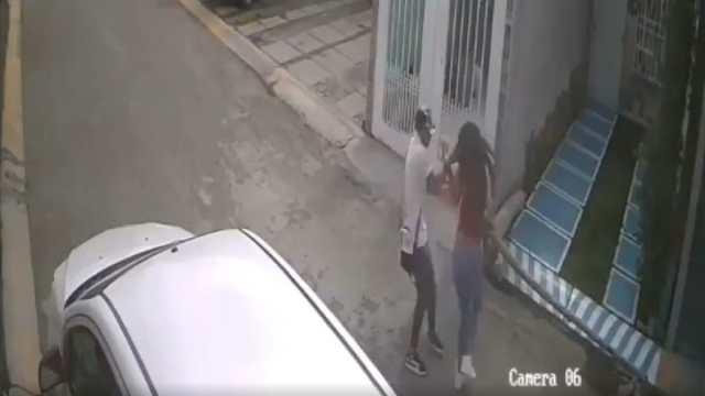 Joven Golpea Novia Calles Ecatepec Video