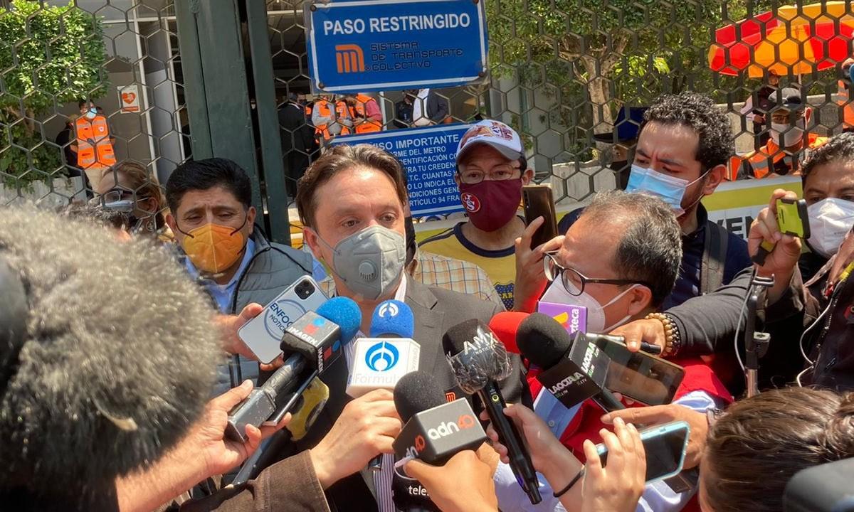 Trabajadores Metro CDMX Anuncian Paro Actividades