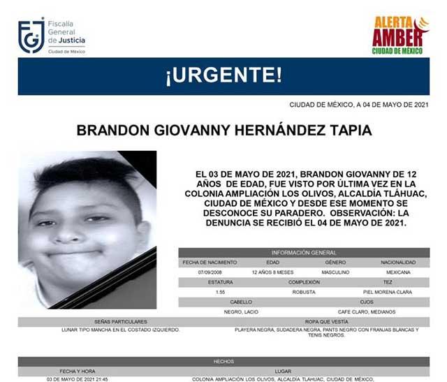 Brandon Giovanny Muerto Metro CDMX
